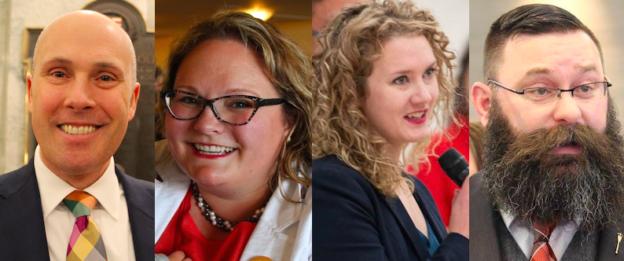 Best of Alberta Politics 2018 Greg Clark Sarah Hoffman Laila Goodridge Shaye Anderson
