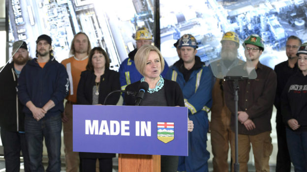 Premier Rachel Notley announced on December 11, 2018 that the government is issuing a Request for Expression of Interest to determine business cases for investing in a new refinery in Alberta or tied to Alberta production. (photography by Chris Schwarz/Government of Alberta)