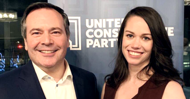 Jason Kenney and Caylan Ford
