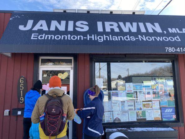 Janis Irwin MLA Edmonton-Highlands-Norwood