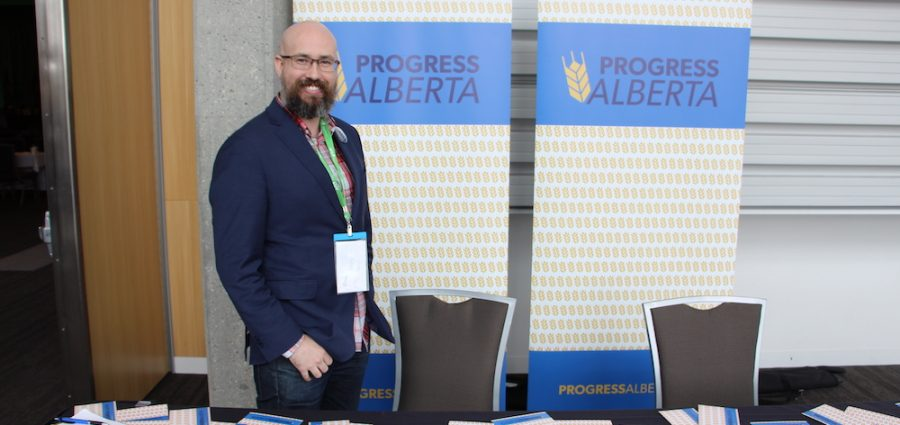 Duncan Kinney, executive director of Progress Alberta