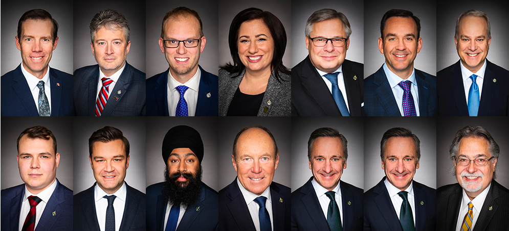 The latest acclaimed Conservative incumbents from Alberta.