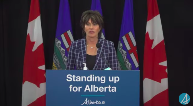 Alberta Energy Minister Sonya Savage releases the final report of the Public Inquiry into Anti-Alberta Energy Campaigns.